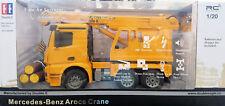 IMEX RC Construction Mercedes Crane Truck, Ready to Run, FREE US SHIP (LR48)