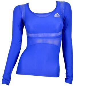 Adidas Techfit Powerweb Ladies Kompression's Shirt Long Body Sharper Running