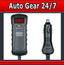 Rba3 12v 24v indicador LED voltímetro batería de coche althernator Tester con Dc Plug