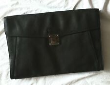 Tumi Men's Leather Clutch / Satchel / Portfolio