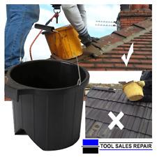 Roofers Ridge Bucket Tool Bucket V Shaped Based Plastic Roofing Bucket