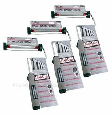 """3 x ProDec Advance 'TITAN' 9"""" x 1.75"""" No Break Roller Cage Paint Frame (ARFR001)"""