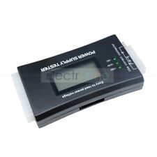 Power Supply Tester 20 24 Pin Sata Digital LCD PSU HD ATX BTX Voltage Test