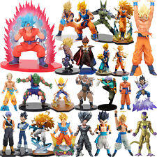 DBZ Dragon Ball Z Super Saiyan Son Goku Gohan Vegeta Freeza Trunks Figures Toys