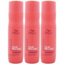 Wella INVIGO Color Brilliance Shampoo 3 x 250 ml kräftiges coloriertes Haar Set