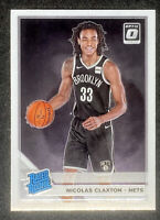 Nic Claxton 2019-20 Donruss Optic Rated Rookie RC Brookyln Nets #171