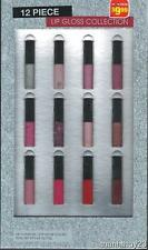 New Beauty Focus 12 Piece Lip Gloss Collection Gift Set
