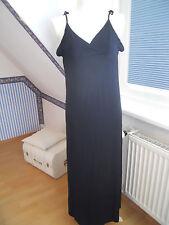 langes Kleid schwarz Jersey v.CHANGE Gr.S,traumhaft schön,weich und sexy Rücken