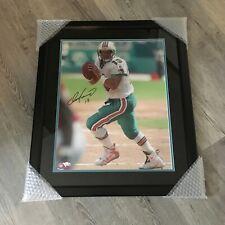 Miami Dolphins Dan Marino Autographed Custom Framed 22x26 Color Photo Fanatics