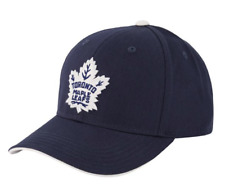 Youth Toronto Maple Leafs Blue Basic Structured Adjustable NHL Hockey Hat Cap