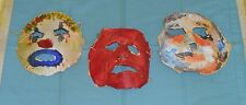 original Rob Zombie's Halloween masks lot 04, 05, 06 screen-used movie prop