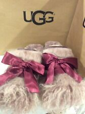 NEW UGG Australia Croquettes Scuffette Shearling Lined Women's 11 Slippers/shoes