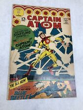 Captain Atom 83 First Appearance Silver Age Blue Beetle 1st App