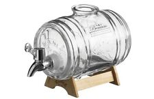 Kilner Barrel Dispenser 1l Measuring Jigger Cup Liquor Whisky Rum Storage