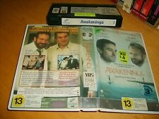 """Awakenings (1990) - First Release VHS Issue Drama """"A Film you soon won't forget"""""""