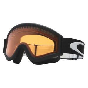 Oakley 02-349 L Frame Matte Black w/ Persimmon Lens Mens Boys Snow Ski Goggles .