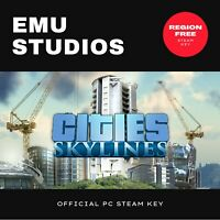 Cities: Skylines (2015) PC Steam Key - Region Free - Fast Delivery