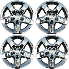 "(4) 2010 CHEVY CHEVROLET MALIBU 17"" BOLT ON ALL CHROME HUBCAP WHEEL COVER"