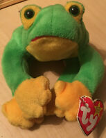 Ty Beanie Baby 1997 Smoochy the Frog with Tags