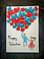 Handmade Greeting Card - Happy Valentines Day