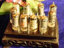 Premium Selection Ten 6AU6(A) Miniature Pentodes; Serious Tubes! E9