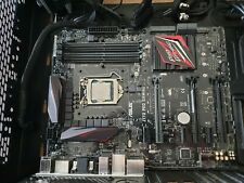 Asus Z170 Pro Gaming Motherboard with Intel i7-7700k 4.2Ghz installed