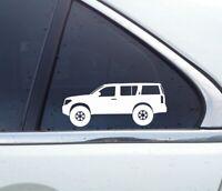 "High Intentions lifted truck decal 40/"" windshield window car sticker 4x4 georgia"