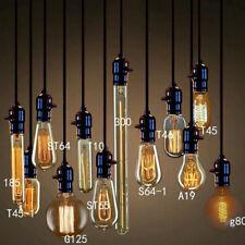 Vintage Antique Style Bulbs Edison Industrial Filament Light Bulb E27 Home Sales