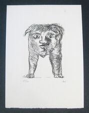 Enrico BAJ - L'Avant garde internationale early engraving edition of 60 S/N RARE