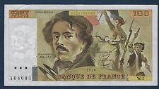 FRANCE - 100 FRANCS DELACROIX Fay n° 68. 1 de 1978. en SUP   W.1 104093