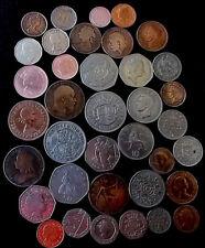 bulk coins of the British Empire  monedas de Inglaterra  Great Britain England