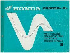 Catálogo Piezas de Repuesto - Catalogue - Honda XR600R ed.1993 Código 13MN1P42