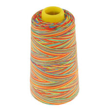 1500 Yards Multi-colored Sewing Thread Spool Polyester Sewing Thread 20s/2