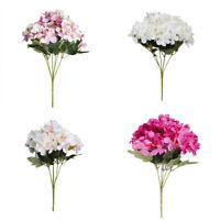 Artificial-Fake Silk Flower Bridal Hydrangea Home Wedding Party Garden Decor