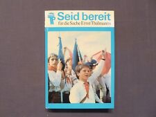 Buch, Seit bereit - für die Sache Ernst Thälmanns, Geschichte JP 1963-1976, DDR
