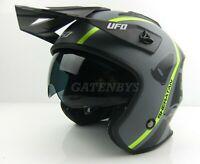New UFO Trials Helmet Trail Montesa Beta Enduro Gasgas TXT Road Legal Pro Sherco