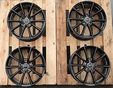 17 Zoll Wheelworld WH28 Felgen 5x112 et45 Schwarz für Audi A3 S3 TT Q3 S4 GTI