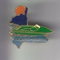 RARE PINS PIN'S .. TOURISME ILE CORSE CORSICA AICARDI MARINE BATEAU BOAT ~DL