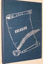 1958 Arcadia High School Yearbook Annual Arcadia Ohio OH - Arcadian