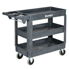 New 3 Tier Utility Tool Cart Dolly Trolley Heavy Duty Service Rolling Plastic Us