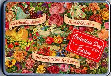 Poetische Liebeserklärung Valentins Edition Geschenkdose mit Poesiebildern Scrap
