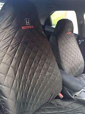 2 x Car seat cover FOR HONDA Civic Accord CR-V HR-V Jazz all models zz