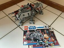 Lego AT-TE Walker 7675 with Instructions! no minifigures