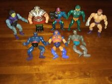 Heman Masters Of The Universe Vintage Action Figures Lot Of Eight