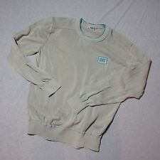MEN XL CAT CATERPILLAR LOGO SOFT LIGHT 100% COTTON SWEATER NWOT X-LARGE SHIRT