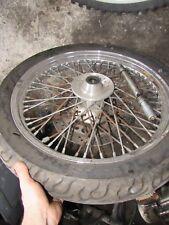 1993 honda vt600 shadow front wheel rim hub