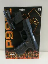 Special Agent 007 WALTHER P99 Toy Cup Gun Flashlight LoneStar Wicke Germany NEW