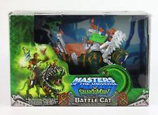 Masters OF THE UNIVERSE MOTU VS il snakemen-Mecha-Morso BATTAGLIA Gatto Figura