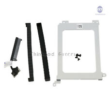 NEW Dell XPS 15 9570 Precision 5530 K0K71 HDD Hard Drive Cable+Caddy+Rubber Rail