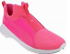 PUMA Mesh Slip-On Training Shoes /Sneakers Rebel Mid in PINK Sz 7.5  NwoB  NEW!
